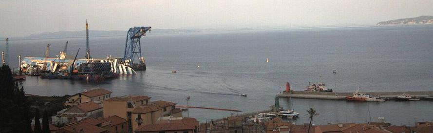 Costa Concordia Webcam