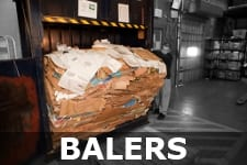 Industrial Recycle Cardboard Baler Compactor