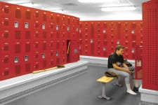 Lockers - Pic Black And White 225x150