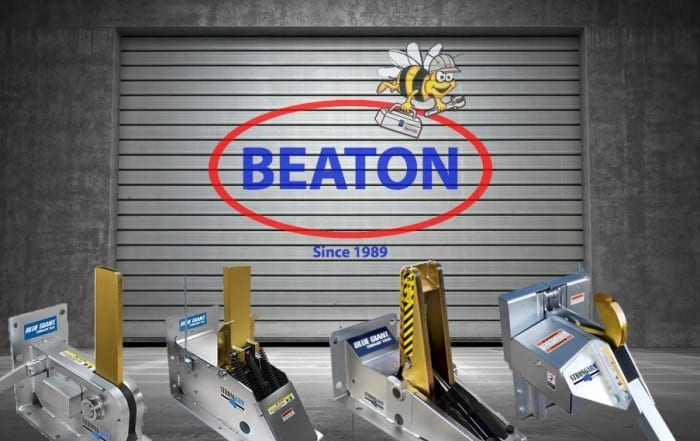 Beaton Door with Vehicle Restraints - OPTIMIZED