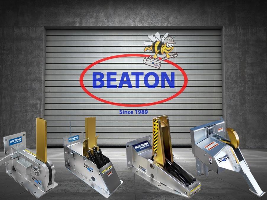 Beaton Door with Vehicle Restraints - OPTIMIZED